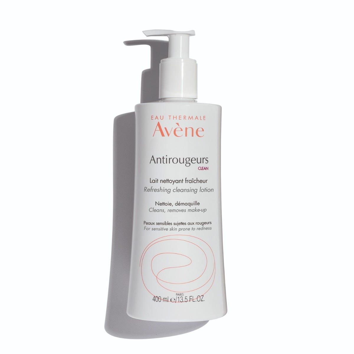 Avene antirougeurs clean refreshing cleansing lotion 400ml shadow