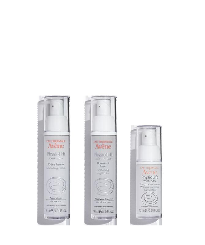 Avene physiolift regimen dry skin 01
