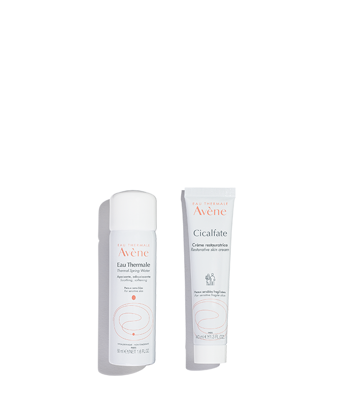 Avene soothe and restore duo 01