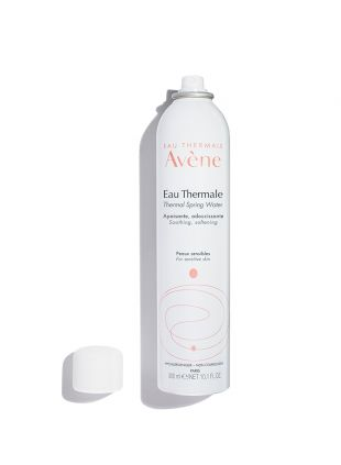 Avene Thermal Spring Water soothes, softens and calms sensitive skin.