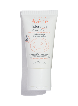 Tolerance Extreme Cream is a moisturizer that hydrates and calms hypersensitive skin.