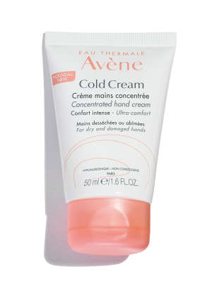 Cold Cream Concentrated Hand Cream, hydrate and soothe dry, sensitive skin