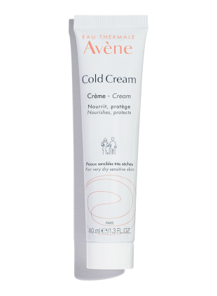 Cold Cream hydrates and soothes very dry, sensitive skin.