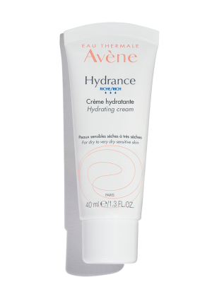 Hydrance Optimale Rich Hydrating Cream, moisturizer that restores natural moisture in sensitive skin.
