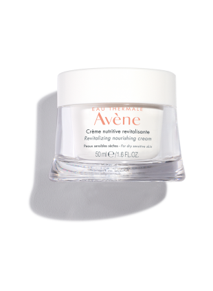 Revitalizing Nourishing Cream, moisturizer for dry skin with antioxidants and nourishing lipids.