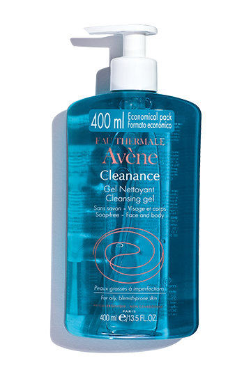 Cleanance Cleansing Gel for face and body 400 ml
