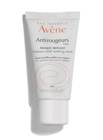 Antirougeurs Calm Soothing Mask, green tinted, soothing facemask for sensitive skin prone to redness.