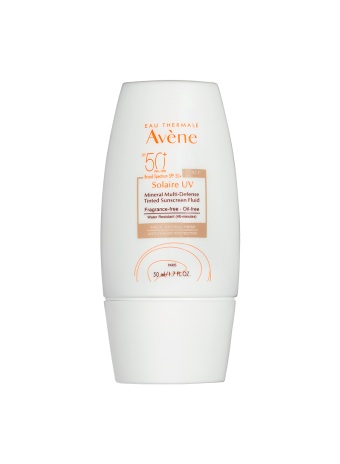 Solaire UV Mineral Multi-Defense Tinted Sunscreen SPF 50+