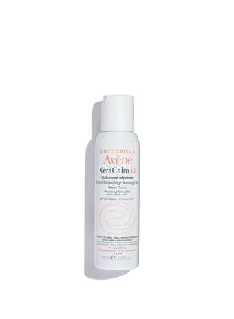 XeraCalm A.D. Lipid-Replenishing Cleansing Oil, seals in moisture and restores skin's barrier.