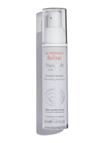 PhysioLift DAY Smoothing Emulsion reduces the appearance of fine lines and wrinkles. Enriched with antioxidants.