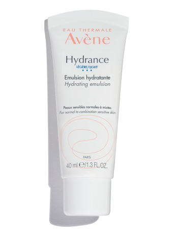 Hydrance LIGHT Hydrating Emulsion, a lightweight moisturizer that hydrates dry skin and sensitive skin.
