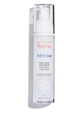 A-OXitive Antioxidant Water-Cream, a lightweight antioxidant moisturizer that blurs imperfections, pores, and wrinkles.
