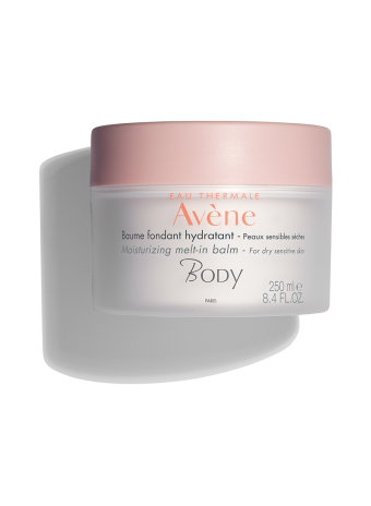 Moisturizing Melt-in Balm, moisturizer with antioxidant defense and infused with rose, jasmine and bergamot.