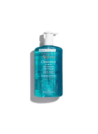 Cleanance Cleansing Gel cleans face and body while eliminating dirt. For oily, blemish-prone skin.