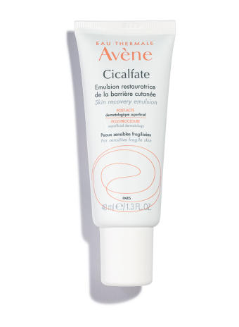 Cicalfate Post-Procedure Emulsion is a recovery cream that restores skin.