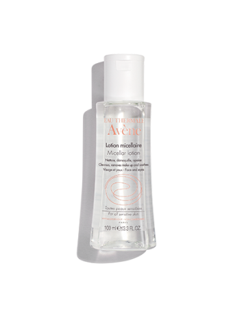 Micellar Lotion Cleanser & Make-Up Remover: 3-in-1 no rinse cleanser, toner and make-up remover for sensitive skin.