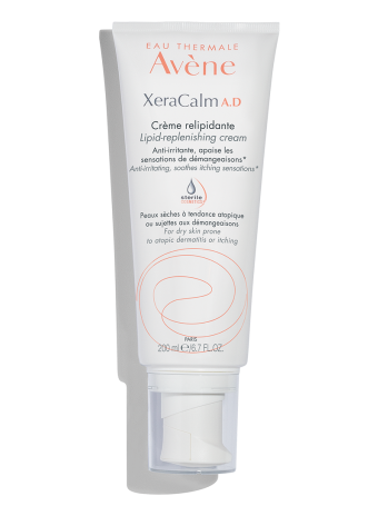 XeraCalm A.D Lipid-Replenishing Cream moisturizer for skin prone to atopic dermatitis and eczema.