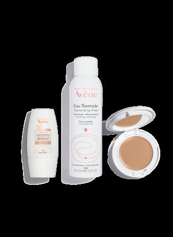 Suncare Skincare Routine – Fair to Medium Skin Tones (Tinted Sunscreen)
