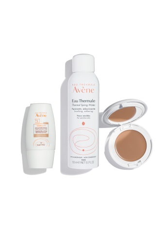 Suncare Skincare Routine – Medium to Dark Skin Tones (Tinted Sunscreen)