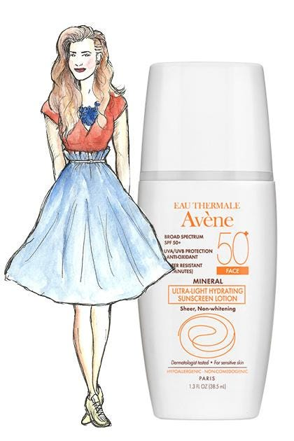 Mineral Ultra Light Hydrating Sunscreen Lotion Spf 50 Face